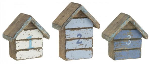 Ib Laursen Strandhaus No. 3 dunkelblau