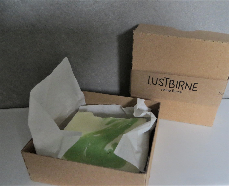 Nützlichwellness - Seife LUSTBIRNE milde Birne - Onlineshop Tante Emmer