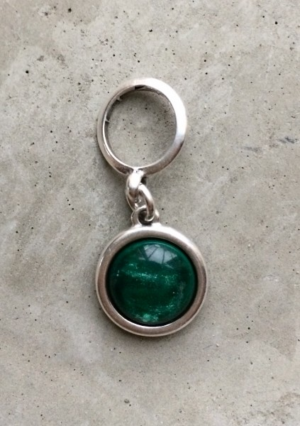 QOSS Anhänger SYLVIA 12mm smaragdgrün