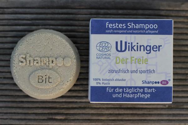 """ShampooBit """"Wikinger Der FREIE"""", Rosenrot"""