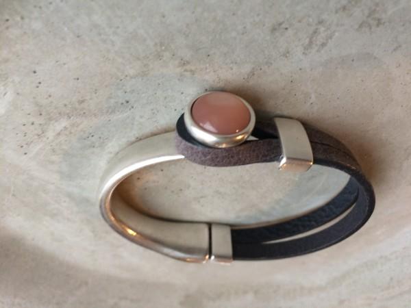 QOSS Armband GWEN vintage-schwarz/magnolia S