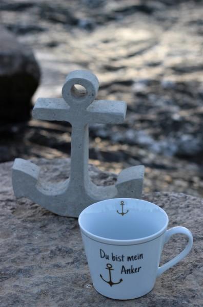 """Happy Cup Tasse """"Du bist mein Anker"""" 400ml, Krasilnikoff"""