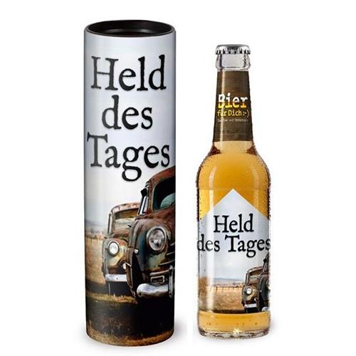 """Bier für Dich """"Held des Tages"""""""