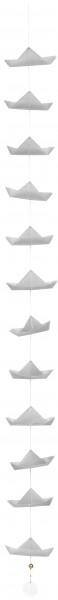 Schiffchenkette grau räder