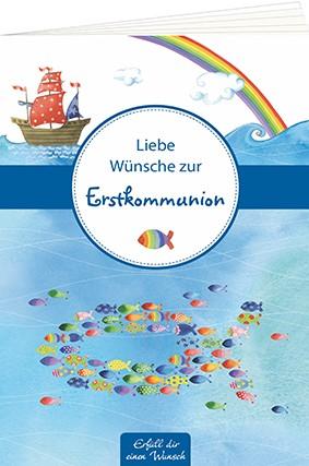 """Geschenkebuch """"Liebe Wünsche zur Erstkommunion"""""""