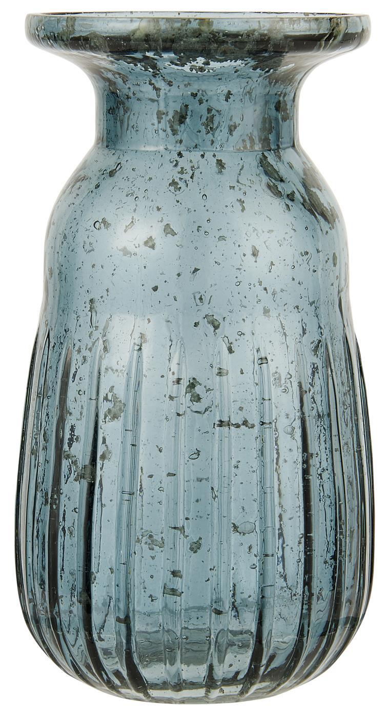 Nützlichdekoration - Hyazinthenglas Vase pebbled glass petrol Serie Stillenat Ib Laursen ApS - Onlineshop Tante Emmer