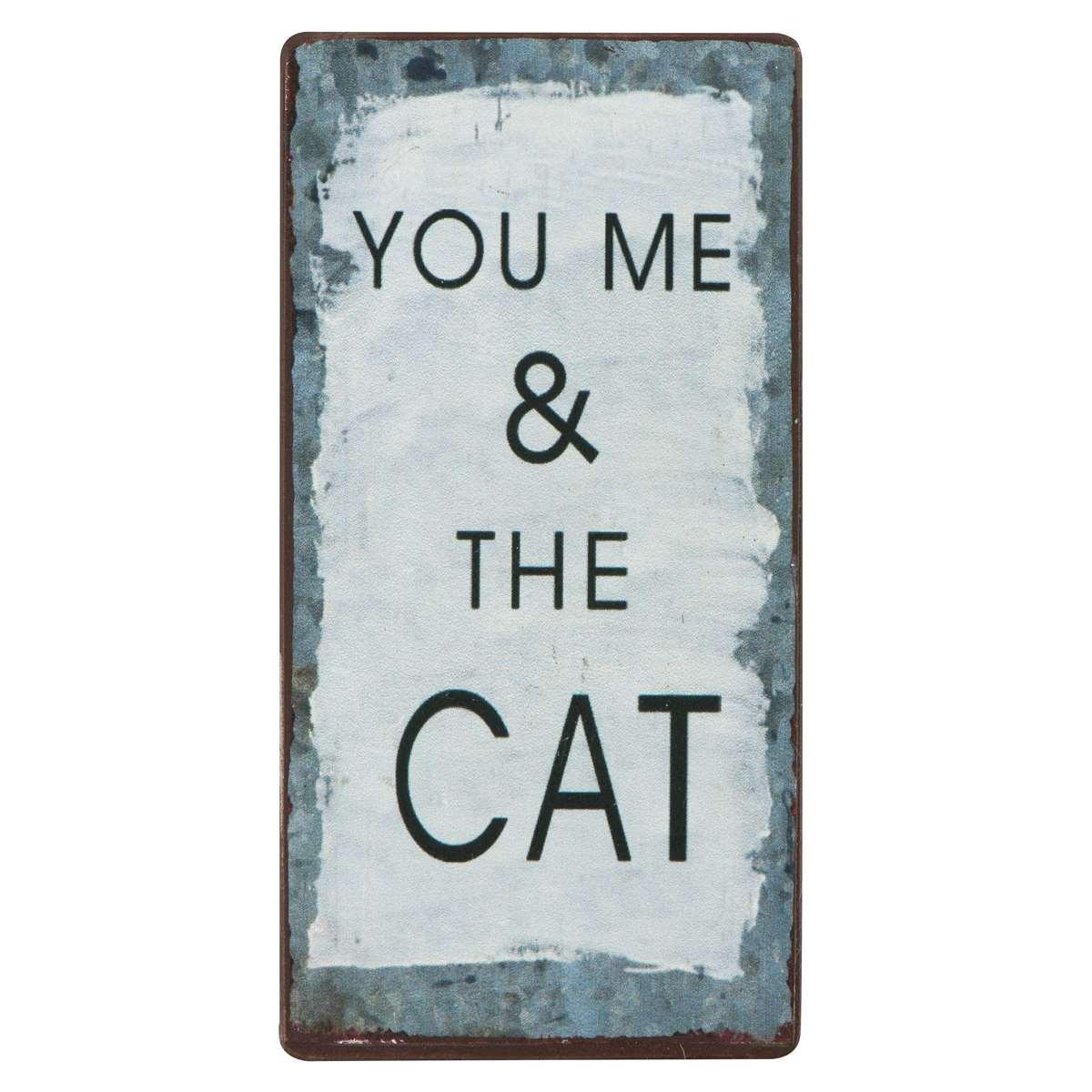 Witzigschilder - Magnet You me the cat - Onlineshop Tante Emmer