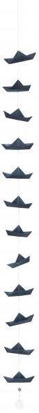 Schiffchenkette Blau, räder