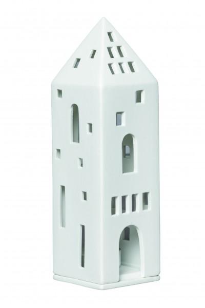 """Lichthaus weiß """"Turm"""" räder"""
