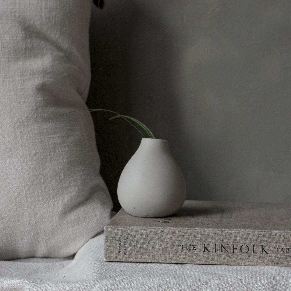 Nützlichdekoration - KÄLLA Vase Hellgrau 9cm Storefactory - Onlineshop Tante Emmer