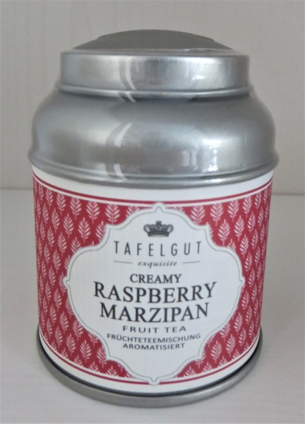 Creamy RASPBERRY Marzipan TEA Fruit Tea Früchteteemischung